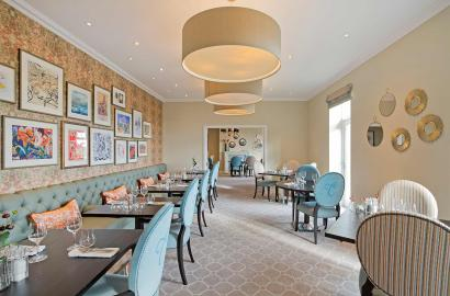 Fine dining at Clevedon restaurant